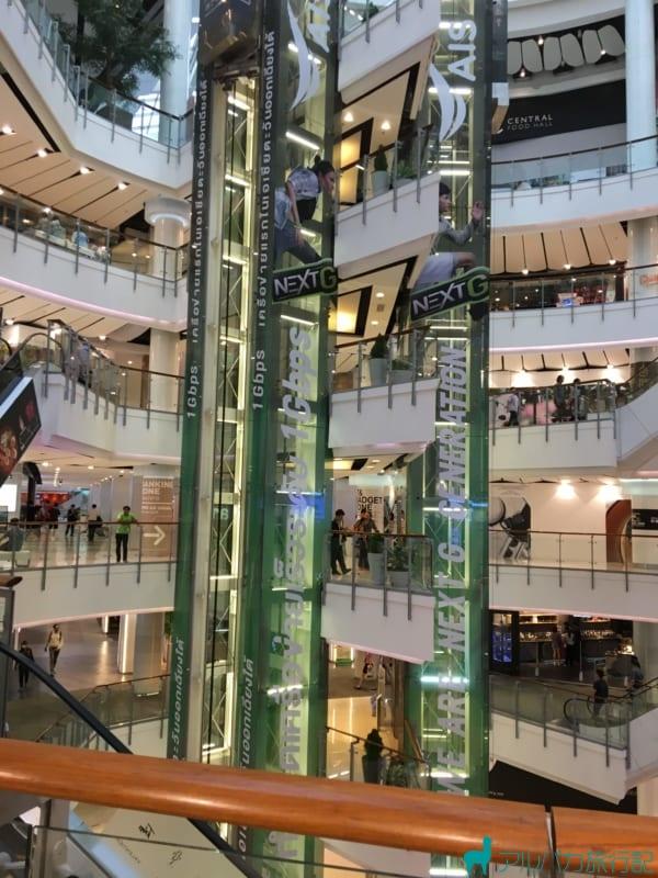バンコクのCentralWorldは東南アジアで最大級のショッピングモール